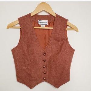 Vintage Fitted Vest Bobbie Brooks